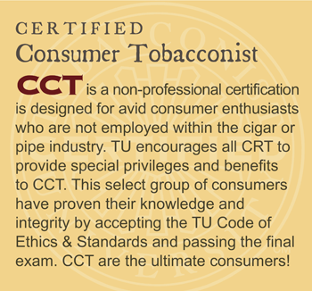 GET CERTIFIED: Certified Consumer Tobacconist (CCT)