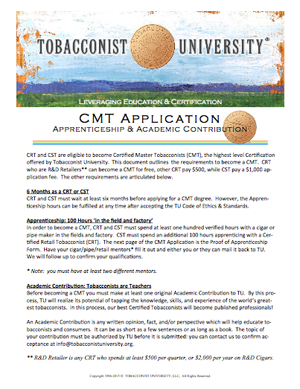 CMT Application